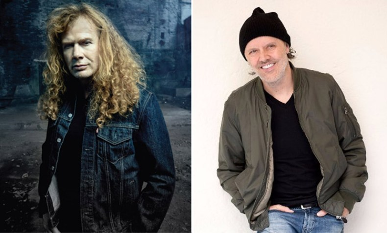 dave mustaine lars ulrich - David Ellefson Recalls When Lars Ulrich Called Dave Mustaine To Ask His Permission To Audition for METALLICA