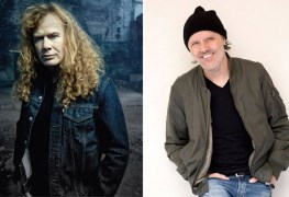 "dave mustaine lars ulrich - DAVE MUSTAINE on Lars Ulrich Songwriting Credit On METALLICA's Early Demo: ""It Was Just Me & James"""