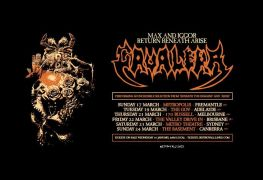 Cavalera - GIG REVIEW: MAX & IGGOR CAVALERA's 'Beneath The Remains & Arise' Live at The Valley Drive In, Brisbane