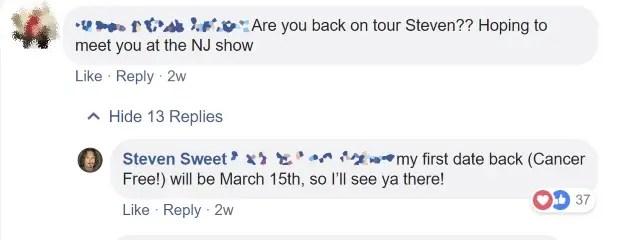 Steven - WARRANT Drummer Steven Sweet Finally Declared Cancer-Free