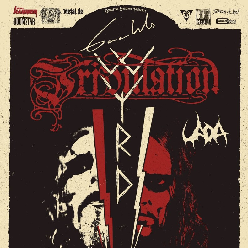 TRIBWYRD - GIG REVIEW: TRIBULATION & GAAHLS WYRD Live At Café Central, Weinheim, DE