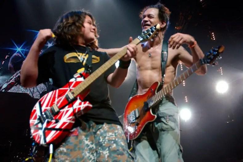 Wolf Eddie Van Halen - Author Recalls How EDDIE VAN HALEN's Son Managed VAN HALEN Reunion With David Lee Roth