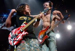 "Wolf Eddie Van Halen - Wolfgang Van Halen On His Father EDDIE VAN HALEN: ""I Think He's The Mozart Of Our Generation"""