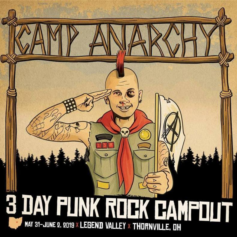 Camp - FESTIVAL REPORT: CAMP ANARCHY - 3 Day Punk Rock Campout Lineup Is Officially Announced