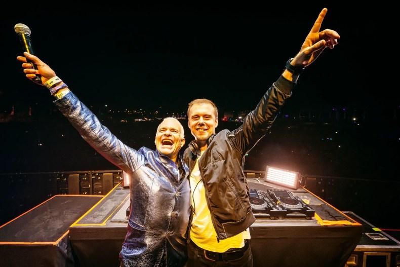 LEEROTHDAVID ARMIN - Watch VAN HALEN's David Lee Roth Perform 'Cringe' Version Of 'Jump' With A Famous DJ