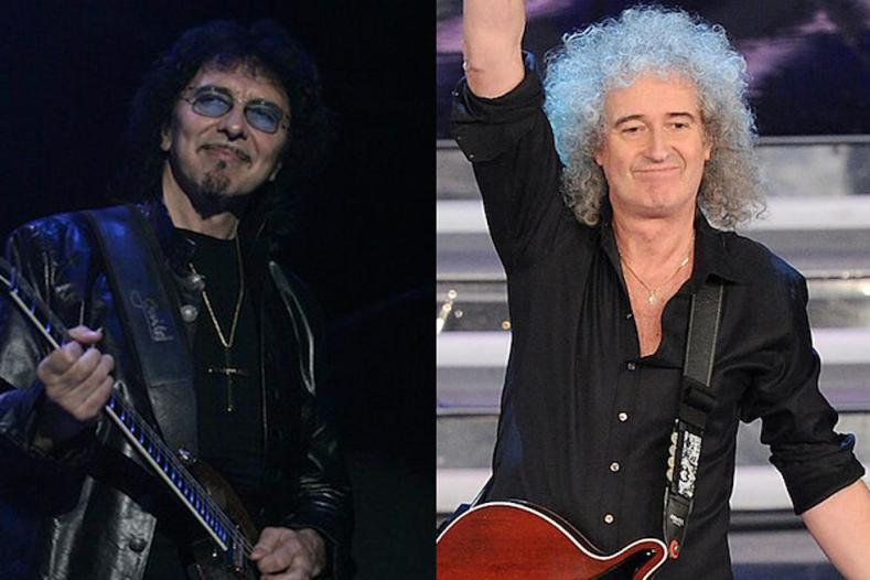 Tony Iommi Brian May - TONY IOMMI & BRIAN MAY Found 500 Unused Riffs While Hanging Out