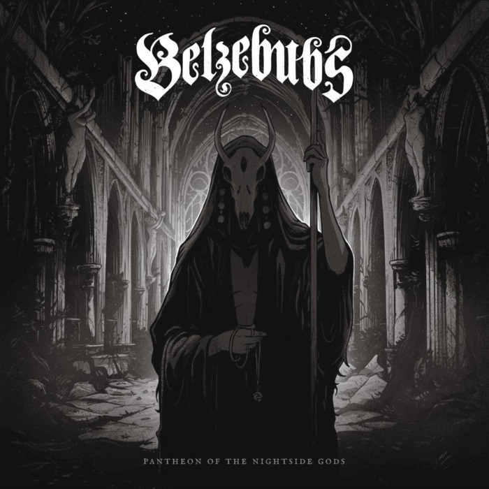 """belzebus cover - REVIEW: BELZEBUBS - """"Pantheon Of The Nightside Gods"""""""