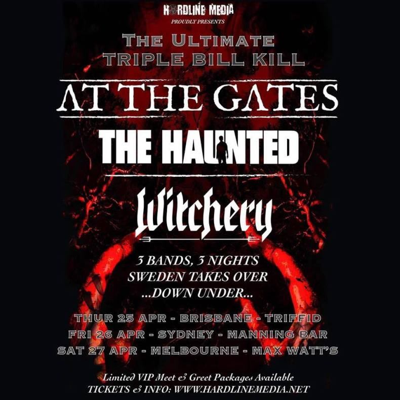 tour2019 atthegates - GIG REVIEW: At The Gates, The Haunted & Witchery Live at Triffid, Brisbane