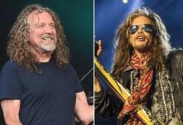 Robert Plant Steven Tyler - AEROSMITH Frontman Steven Tyler Drops LED ZEPPELIN Reunion Bombshell