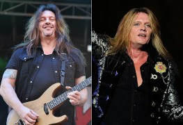 Snake Sabo Sebastian Bach - All Eyes Are On SEBASTIAN BACH Now After Dave 'Snake' Sabo's Rejection To Join Him On Tour