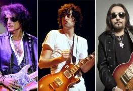 "joe perry jimmy page ace frehley - JAKE E. LEE: ""Jimmy Page, Ace Frehley & Joe Perry Are Sloppy Guitar Players"""