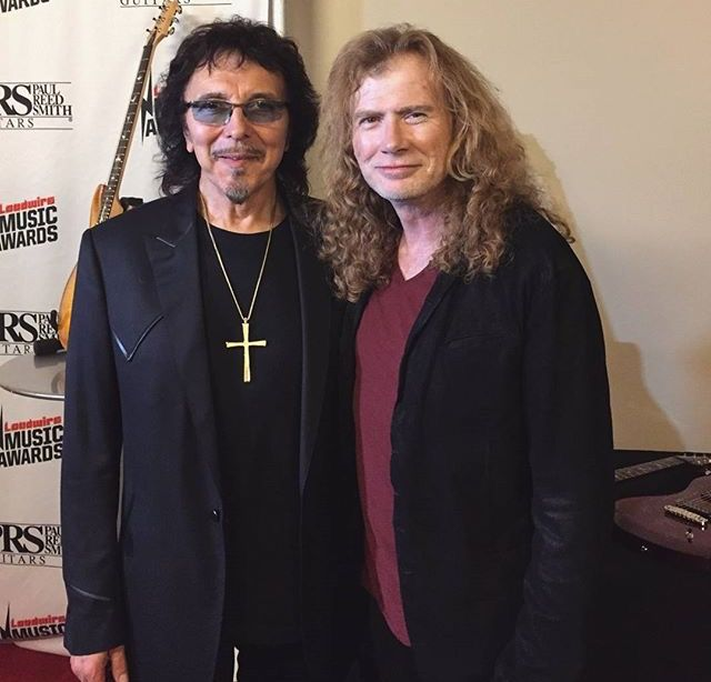 """mustaine iommi - BLACK SABBATH's Tony Iommi To Dave Mustaine: """"Working Is The Best Recovery"""""""