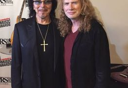 "mustaine iommi - BLACK SABBATH's Tony Iommi To Dave Mustaine: ""Working Is The Best Recovery"""