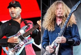 """tom morello dave mustaine - Tom Morello Writes An Emotional Letter To Dave Mustaine: """"You're An Intelligent Human"""""""