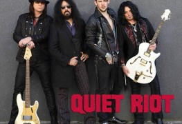 Quiet Riot 1 - Watch QUIET RIOT Playing First Concert After FRANKIE BANALI's Death