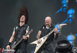 Anthrax Hellfest 2019 10 - ANTHRAX Members Address Fans: Why You Can't Say 'Rock Is Dead'