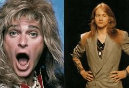 David Lee Roth and Axl Rose - VAN HALEN Frontman David Lee Roth Mocks Axl Rose Over GUNS N' ROSES Album