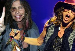 Steven Tyler 1 - Watch AEROSMITH Frontman Steven Tyler Fall On Stage At Maryland Concert