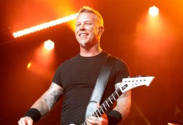 """james hetfield - METALLICA's James Hetfield Addresses Fans on '...And Justice' Production: """"Who Gives A Sh*t?"""""""