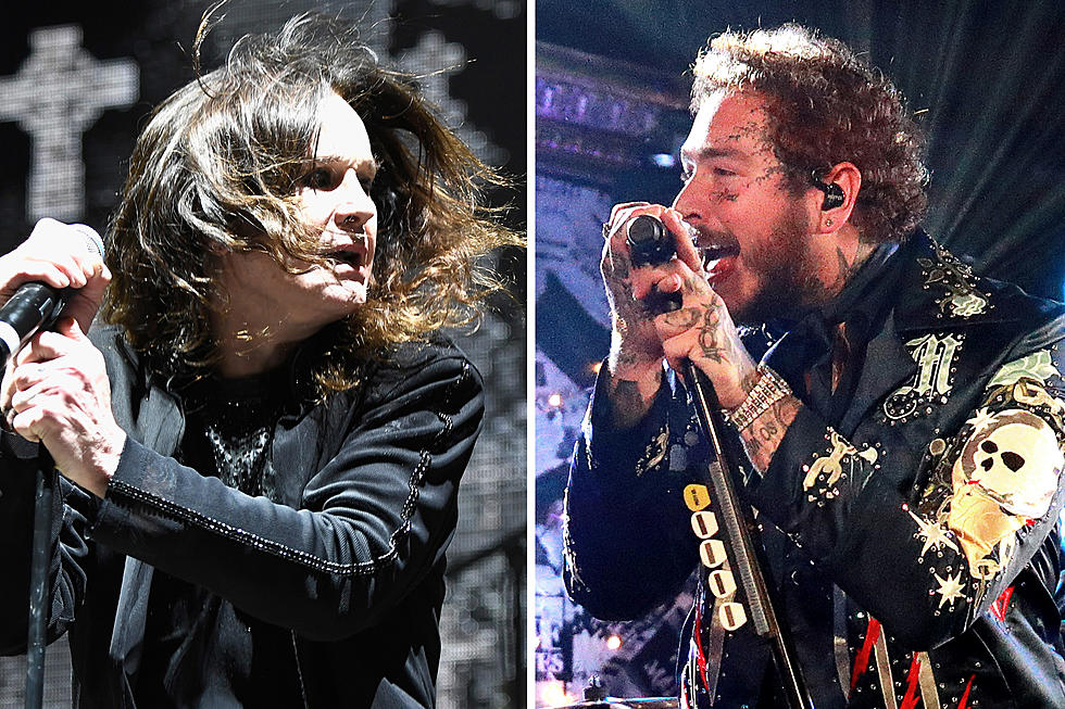 Ozzy Osbourne Joined Post Malone Onstage In LA Last Night