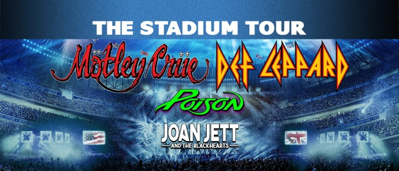 Crue Leppard Poison - JUST IN: MOTLEY CRUE, DEF LEPPARD & POISON 'The Stadium Tour' Will Happen No Matter What