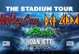 Crue Leppard Poison - JOAN JETT Says She Wouldn't Feel Comfortable Doing 'The Stadium Tour' Amid COVID-19 Pandemic