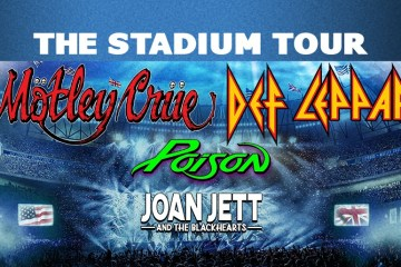 Crue Leppard Poison - Get Ready For More Dates To Be Added To MOTLEY CRUE, DEF LEPPARD & POISON 'The Stadium Tour'