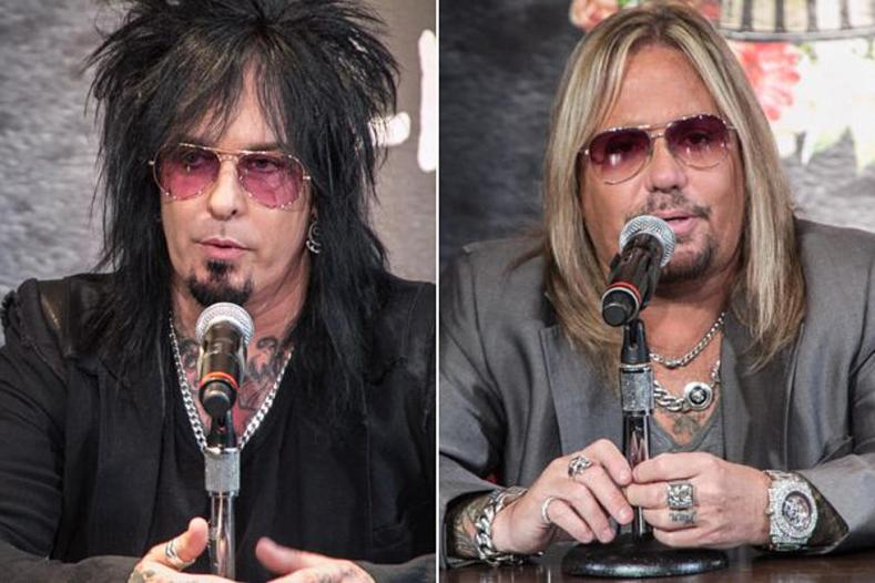 """Crue vince nikki - MOTLEY CRUE's Nikki Sixx on Vince Neil's Birthday: """"Can't Wait To Kick A*s Together"""""""