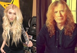 Electra Mustaine and Dave Mustaine - Daughter Says She Cries Over Her Piano Wondering Whether DAVE MUSTAINE Would Make It Through