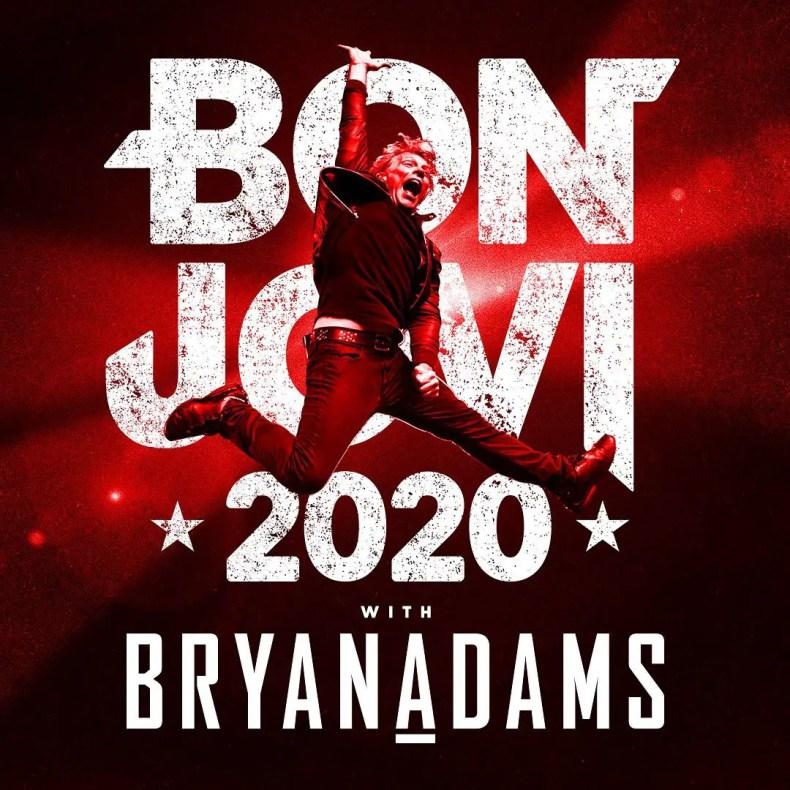 Bryan Jovi - BON JOVI & BRYAN ADAMS Announce Massive Arena Tour