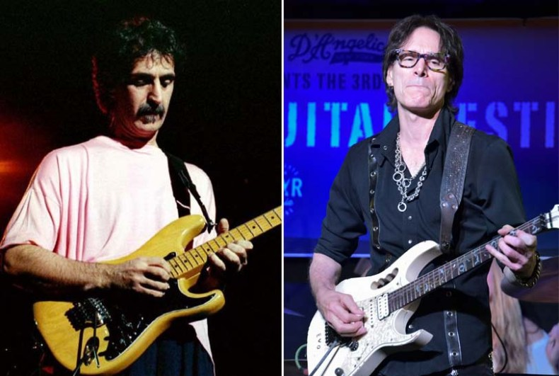 """frank zappa steve vai - Steve Vai Recalls Nightmare FRANK ZAPPA Gig: """"I Was Pissing Out My A*s"""""""