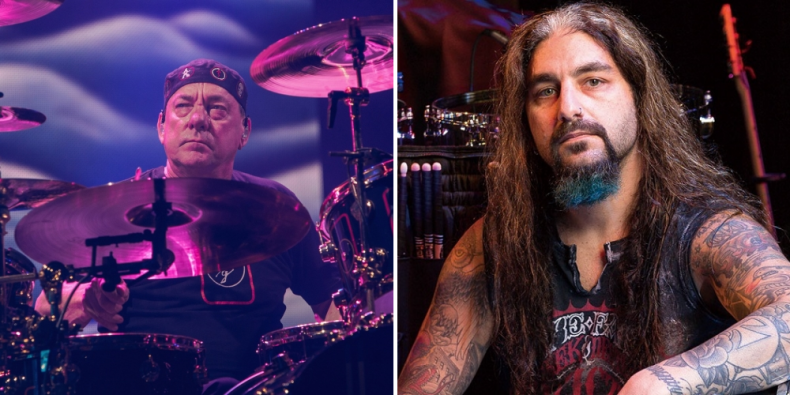 "mike portnoy neil peart - Mike Portnoy Says He Kept Neil Peart's Cancer Secret For 2 Years: ""I Broke Down Crying"""
