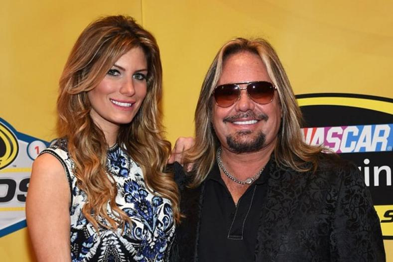 Vince Neil Rain Hannah - MOTLEY CRUE's Vince Neil Gf Reveals Weight Loss Photo Of Vince