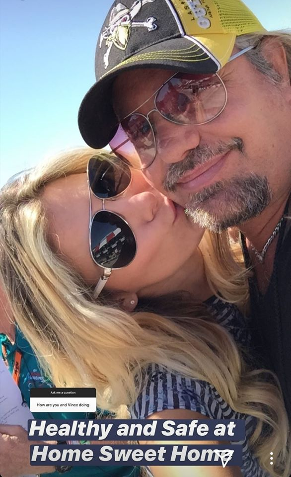 Vince Neil - MOTLEY CRUE's Vince Neil Looks Fit In A New Photo Amid Self Quarantine