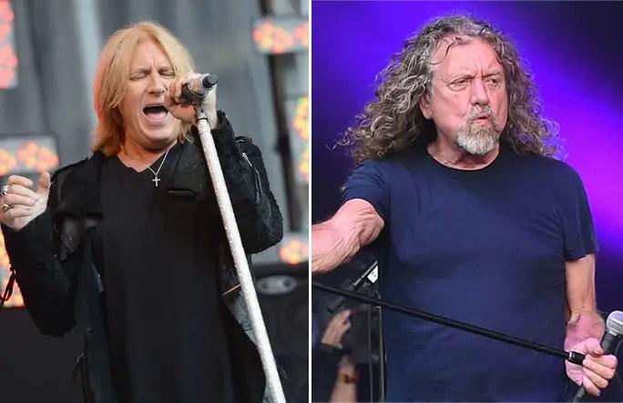 joe elliott robert plant - DEF LEPPARD'S Joe Elliot Says He Couldn't Sing Like LED ZEPPELIN's Robert Plant