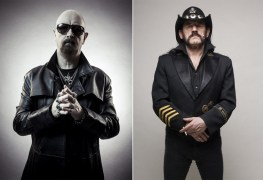 rob halford lemmy kilmister - Rob Halford Recalls Sitting on Lemmy Kilmister's Lap After Every MOTÖRHEAD/JUDAS PRIEST Tour Date