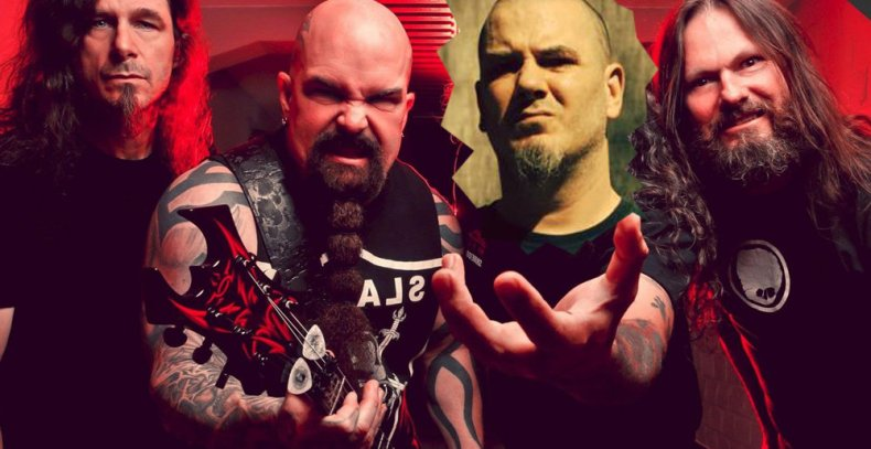 "slayer with anselmo crude - Paul Bostaph Confirms New Project With Kerry King: ""It Will Sound Like SLAYER"""