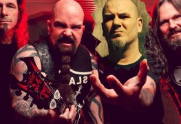slayer with anselmo crude - Report: Kerry King Continuing SLAYER With Phil Anselmo Instead Of Tom Araya