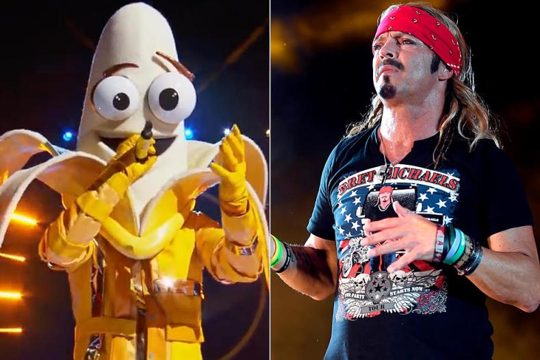 """Bret Banana - POISON Fans Are Speculating That Bret Michaels Is The BANANA On """"The Masked Singer"""""""