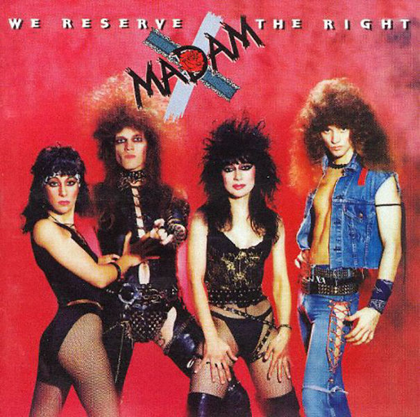 Madam X - 12 Awkward 80s Glam/Hair Band Photos That Are Bad Yet So Good