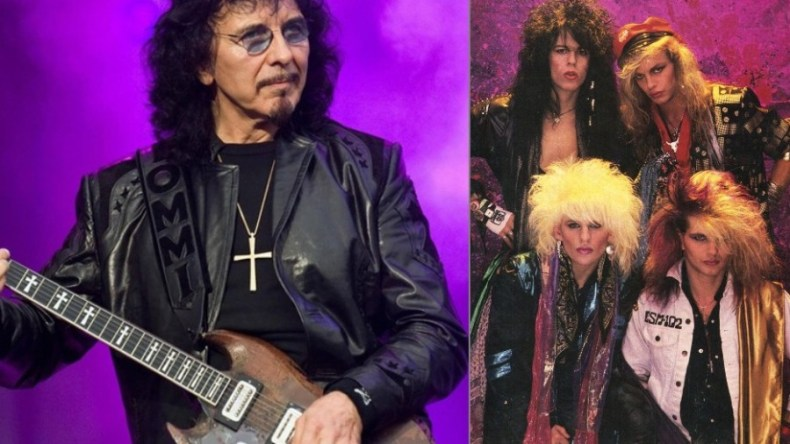 "Tony Glam - TONY IOMMI To 80s Hair Bands: ""You Were More Of A Posing Thing Than Actual Music"""