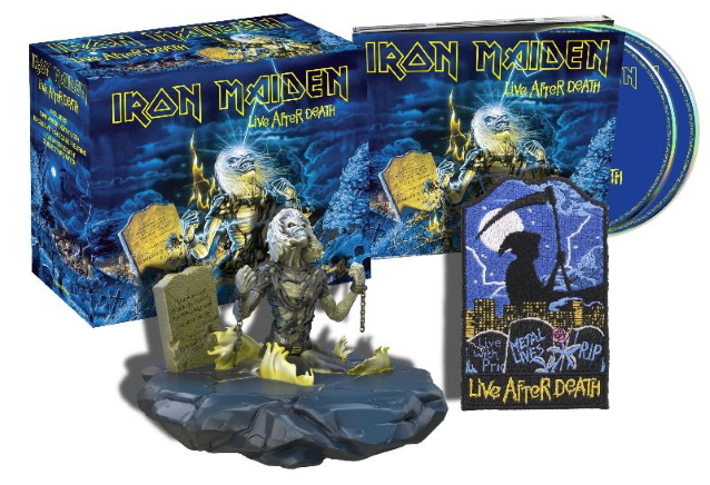ironmaidenliveremastered1 - IRON MAIDEN Surprises Fans With A New Release Expected On June 19th