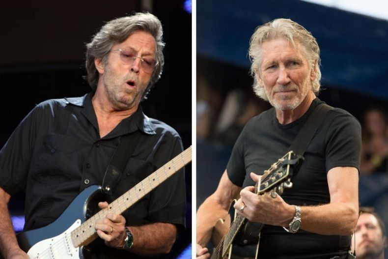 Eric Clapton Roger Waters - Eric Clapton & Roger Waters Combine To Cover PINK FLOYD's 'Wish You Were Here'