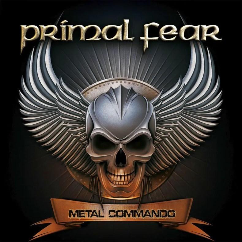 "cover 1 - REVIEW: PRIMAL FEAR - ""Metal Commando"""