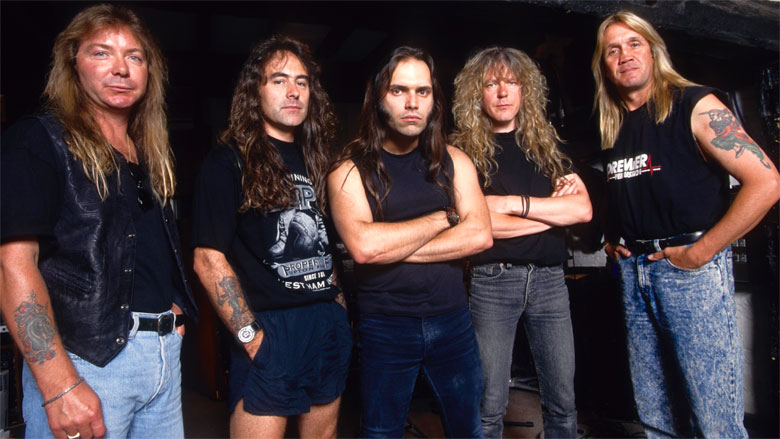 """ironmaiden - Nicko McBrian on Blaze Bayley: """"Love Him Or Hate Him. We Did Two Great Albums With Him"""""""
