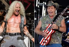ted nugent and dee snider - DEE SNIDER Is Annoyed With TED NUGENT's Racist Comments