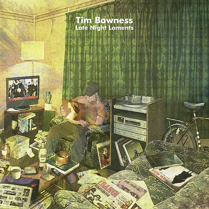 """Tim Bowness - REVIEW: TIM BOWNESS - """"Late Night Laments"""""""