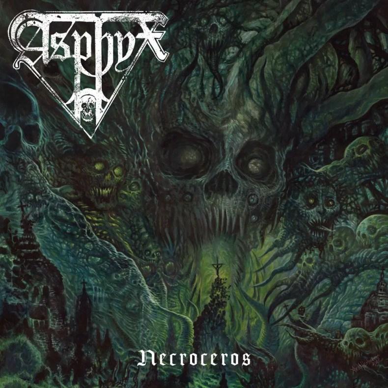 """Necroceros - REVIEW: ASPHYX - """"Necroceros"""""""