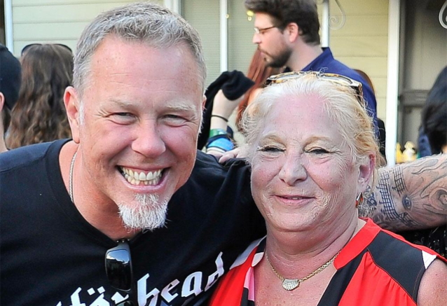 "James Zazula - METALLICA's James Hetfield Mourns Death Of Marsha Zazula: ""She Was Our Mother When I Had None"""