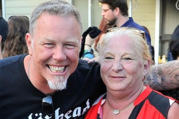 "James Zazula - METALLICA's James Hetfield Mourns Death Of Marsha Zazula: ""She Was Our Mother When I Had None"""